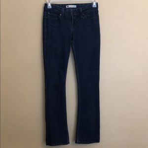 Levi's Demi Curve Low Rise Boot Skinny Jeans 27